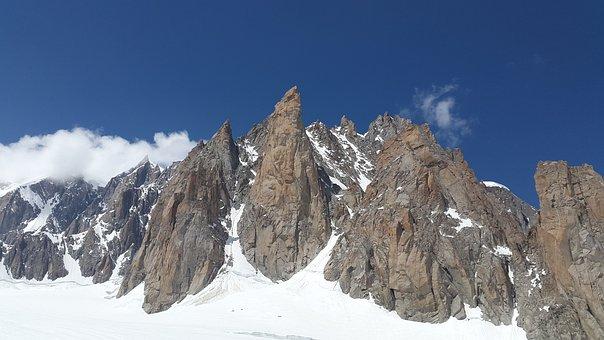 Grand Capucin, Devil's Ridge, Mont Blanc Du Tacul