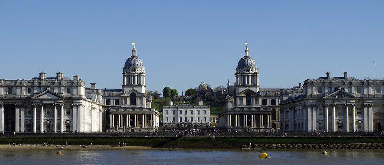 Greenwich, Old Royal Naval College, Chapel
