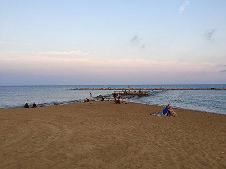 Spain, Barcelona, Madrid, Lake, Sea, Beach, Holiday