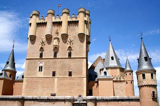 España La Bella, Segovia, Spain, Castle, Landmark