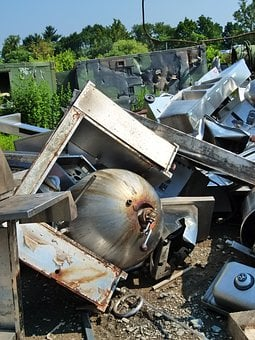 Scrap Metal Yard, Metal, Junk, Dump, Recycling, Recycle
