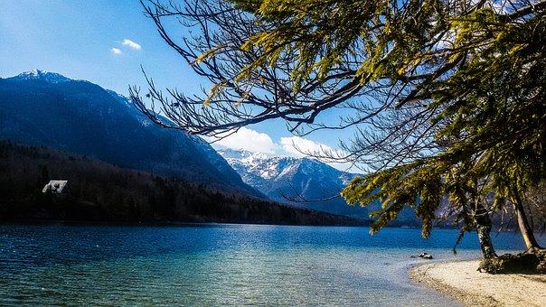 Bohinj, Lake, Natural, Sun, Slovenia