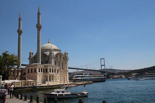 Istanbul, Beşiktaş, Ortakoy, Landscape, Ottoman, Turkey