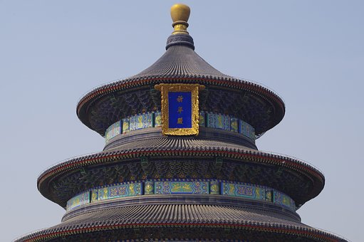 China, Beijing, The Temple Of Heaven, Palace