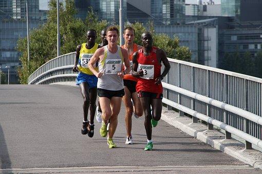 Marathon, Running, Runner, Race