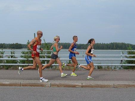 Marathon, Race, Runner, Sport, Running