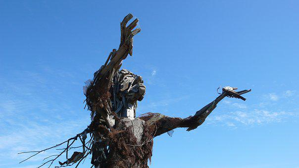 Found Art, Sculpture, Albany Bulb