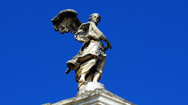 Sculpture, Angel, The Archangel, Complex, Architecture