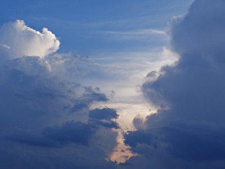 Sky, Cloud, Nature, Cloud Cover, Blue Sky, Glomerulus