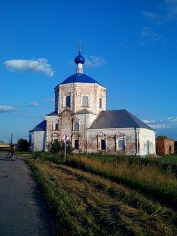 Church, Elias, Anevo, Suzdal, Russia, Village, Temple