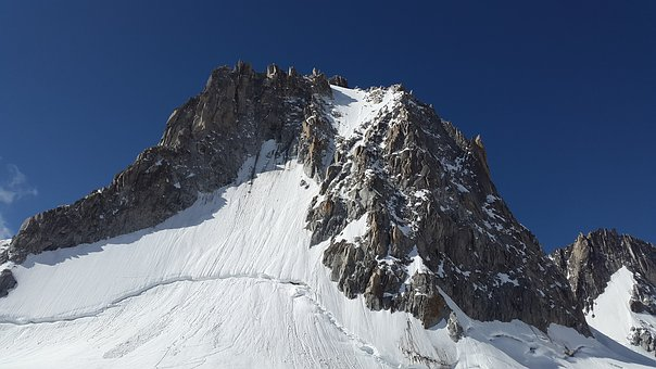 Tour Ronde, North Wall, Chamonix, Mountains, Alpine