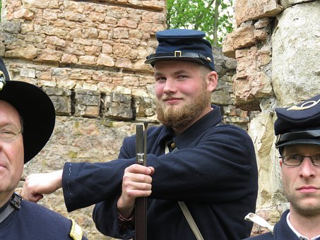 Civil War, Soldier, Union, Military, Reenactment