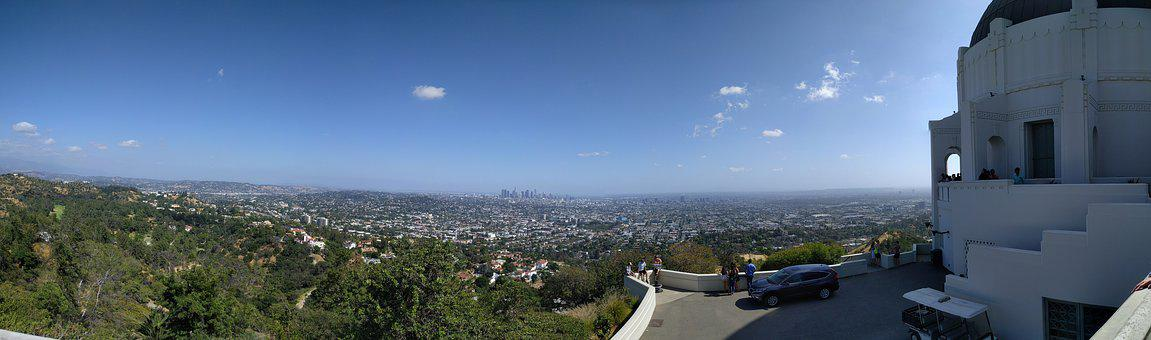 Griffith, Observatory, Angeles, California, Usa, City