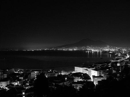 Castellammare Di Stabia, Vesuvius, The Gulf Of Naples