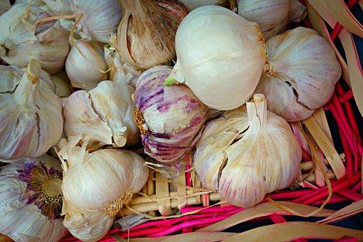 Garlic, Bulb, Onion, Allium Sativum, Food, Nutrition