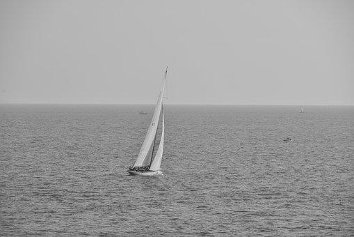 Yacht, Racing, Sail, Boat, Sport, Sea, Yachting