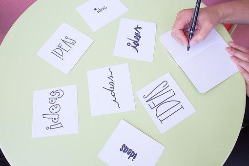 Brainstorm, Ideas, Notes, Pen, Brainstorming, Business
