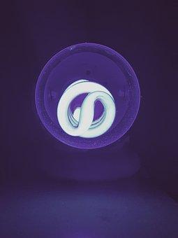 Light, Blacklight, Glowing, Blue, Uv, Creative, Neon