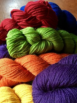 Yarn, Knitting, Crochet, Skein, Colorful, Craft