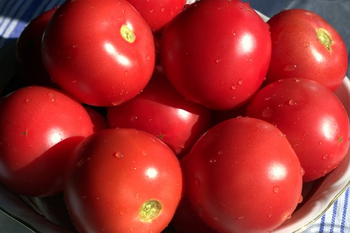 Tomatoes, Red, Mature, Juicy, Healthy, Diet