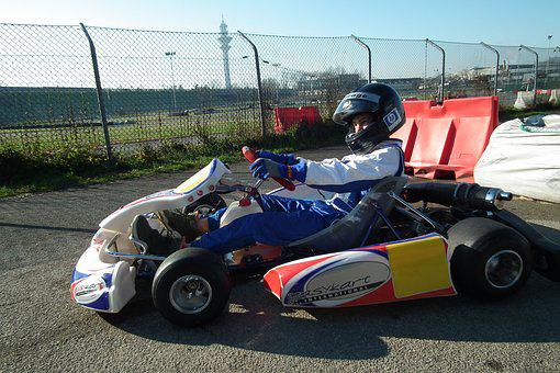 Karting, Driver, Circuit, Rece, Sport, Extreme