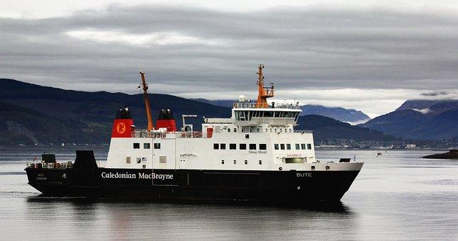 Bute, Ferry, Port, Scotland, Argyll, Sea, Scottish