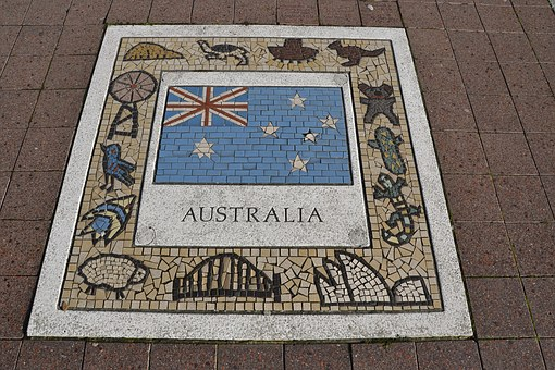 Australia, Team Emblem, Emblem, Team, Football, Soccer