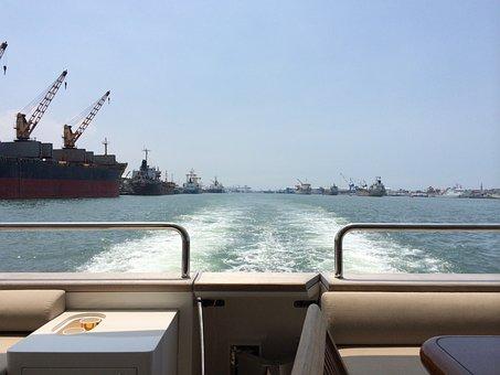 Boat, Harbor, Kaohsiung, Water, Yacht, Ocean, Marina