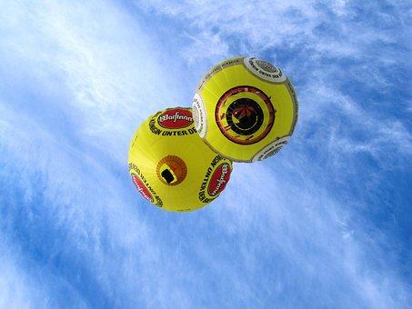 Go Balloon, Hot Air Balloons, Captive Balloon, Sky