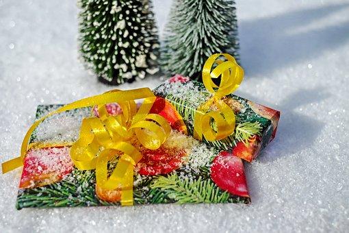 Gift, Package, Loop, Made, Packed, Packaging