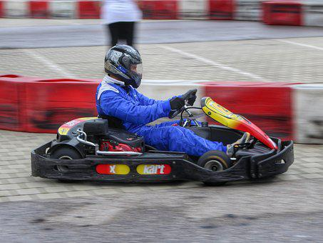 Motorsport, Racing, Race, Go Kart Track, Race Track