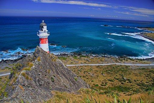 Lighthouse, Navigation, Beacon, Light, Beams, Flashing