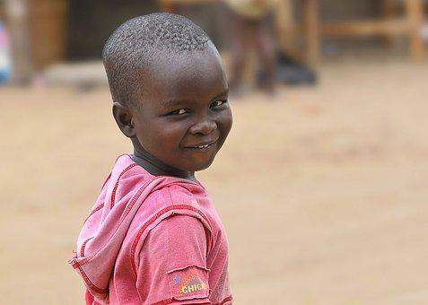Child, Africa, Orphan, African, Portrait, Black