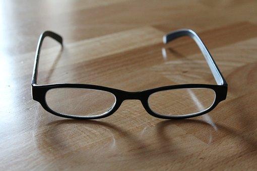 Glasses, Reading Glasses, Read, Black Glasses, Sehhilfe