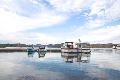 Boat, Port, Harbour, Reflection, Sea, Harbor, Water