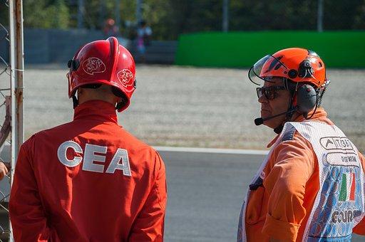 Relief Aid, Fire Escape, Autodromo, Monza, Formula 1