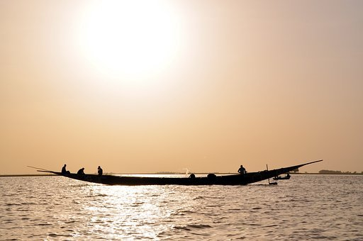 Niger, Africa, River, Boat, Ship, Sea, Yacht, Water