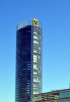 Skyscraper, Posttower, Telecom Tower, Communication