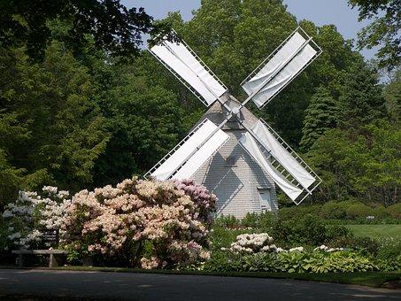 Windmill, Machine, Generator, Energy, Power, Summer