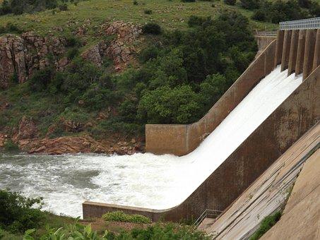 Locks, Waterfalls, Dam, Water, Nature, Outdoors, Park