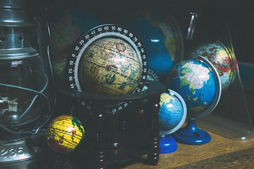 Globe, World, Travel, Map, Trip, Adventure, Coordinates