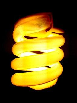 Bulb, Dark, Electricity, Bright, Light, Lamp, Yellow