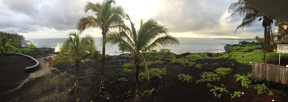 Hawaii, Big Island, Ocean View, Island, Travel, Water
