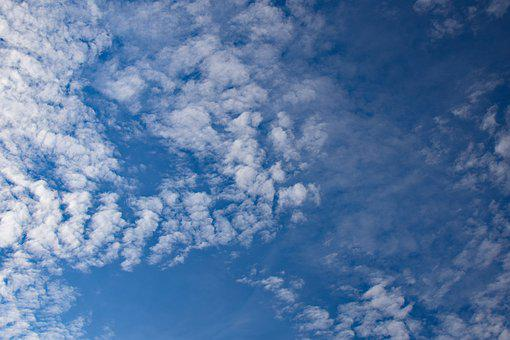 Cirrocumulus Stratiformis Clouds, Clouds, Sky, Skyscape
