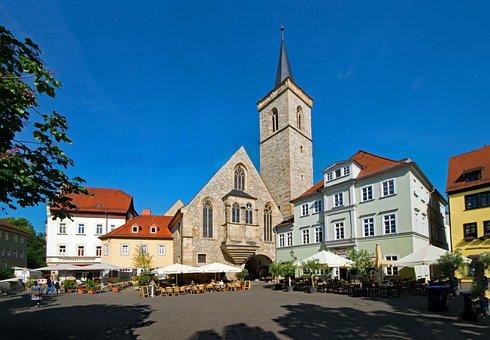 A Few Market, Erfurt, Thuringia Germany, Germany