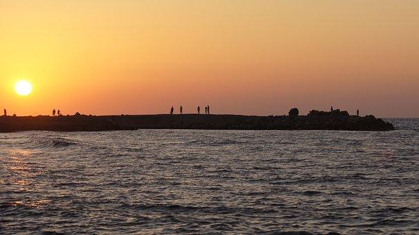 Greece, Crete, The Stones, Holidays, Sea, Water