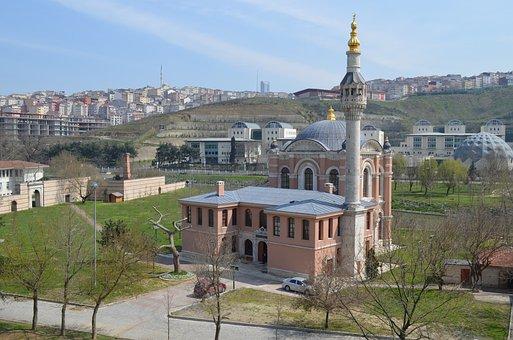 Istanbul, Estuary, Cami, Turkey