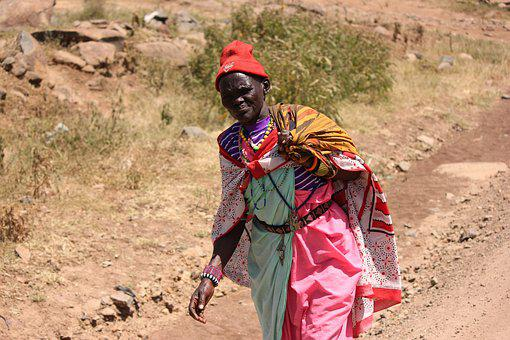 Africa, Nomad, Tribal, Masai Mara