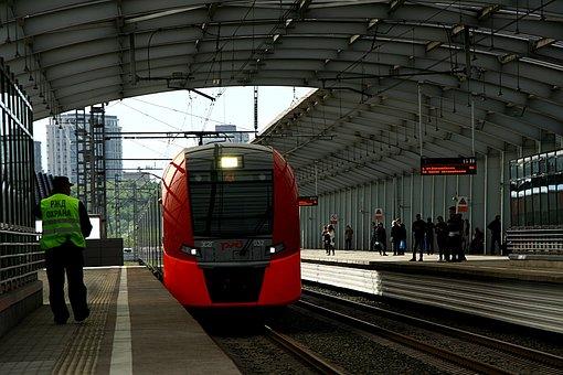 Metro, Train, Rails, Capital, Moscow, Urban Transport