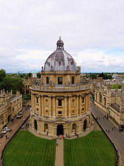 Oxford, Radcliffe, Camera, Library, Oxfordshire